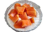 papaya-yogurth