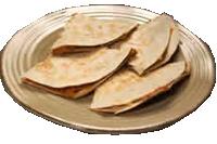 Quesadillas tortilla de Maíz